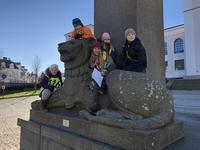 Bilde av aktivitet fra Bymanøveren 2018